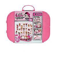 LOL Сюрприз! Игровой набор с эксклюзивной куклой ПОКАЗ МОД ярко-розовый ОРИГИНАЛ!