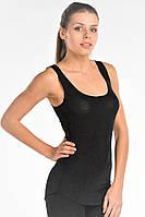 Майка (термомайка) женская Kifa Wool Comfort черная
