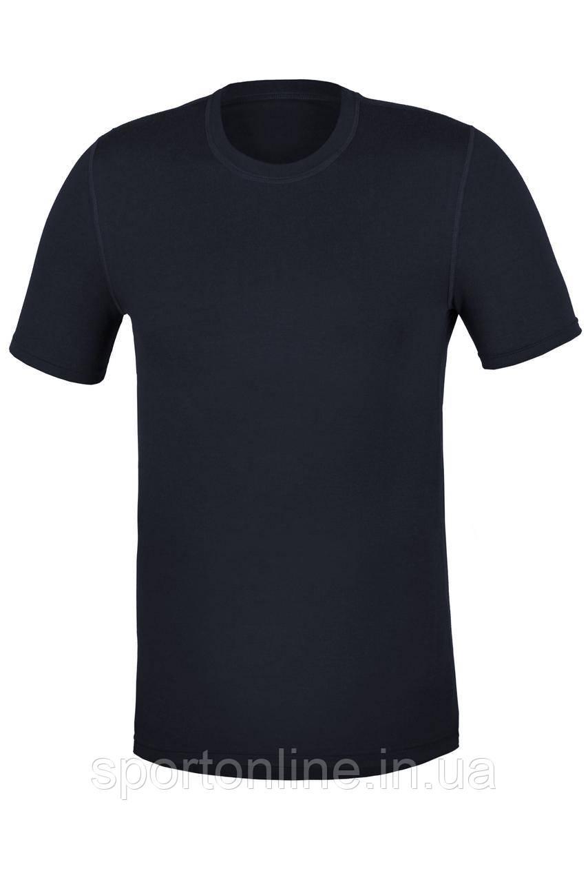 Термофутболка мужская повседневная Kifa Wool Comfort темно синяя M