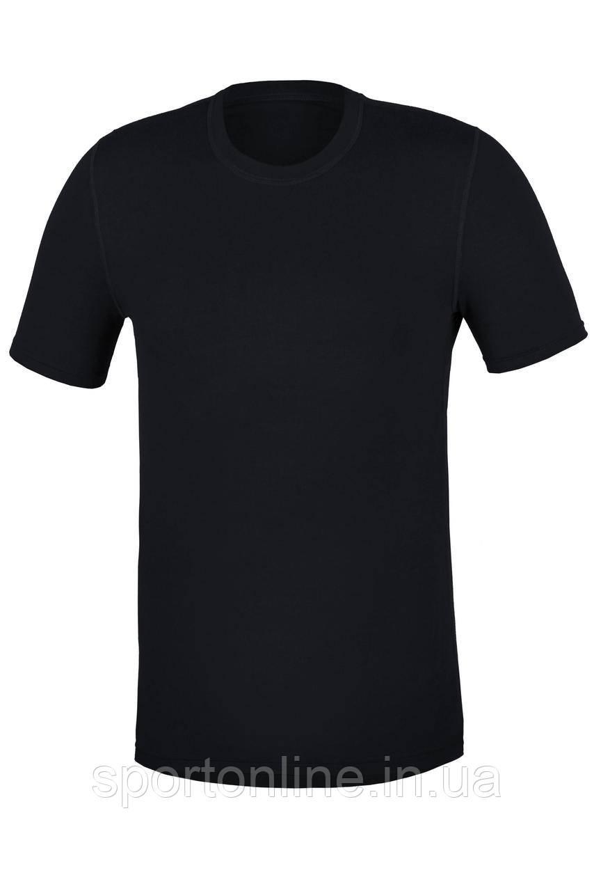 Термофутболка мужская с шерстью повседневная Kifa Wool Comfort черная M