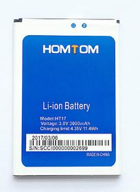 Аккумулятор (Батарея) для Homtom HT17 Pro (3000 mAh)