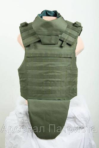"""Чехол для бронежилета """"Molle+"""", с чехлом защиты шеи и паха"""