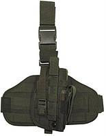 """Кобура набедренная маленькая, съемная на платформе с системой Molle, для правой ноги, """"MFH"""""""