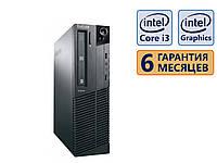 Компьютер Lenovo M91p SFF s1155 Q67 / Intel i3 (2 ядра) 2gen. / DDR3 4GB (1*4GB) / SSD 120GB / DVDRW / 240W / накл. Win. 7 Pro бу