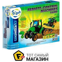 Электронный конструктор для мальчиков от 6 лет - Gigo Управляемые сельскохозяйственные машины (7447)