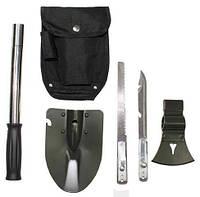 """Лопата """"6 в 1"""" (лопата, нож, пила, топор, молоток, открывалка), """"MFH"""""""