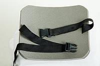 """Коврик для сидения двухслойный фольгированный, 18х35х1,5 см, c ремнем """"Фастекс"""""""
