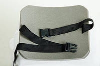 """Коврик для сидения двухслойный, 30х35х1,5 см, с ремнем """"Фастекс"""""""