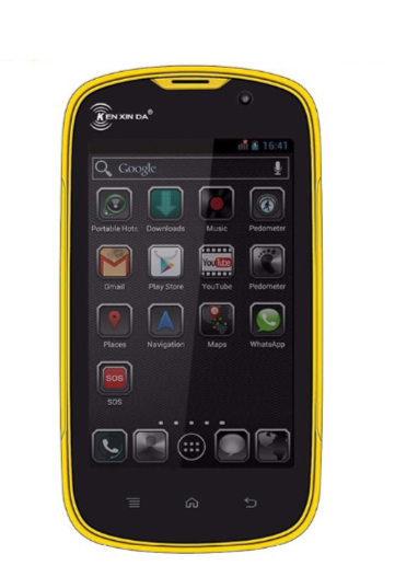 """Защищенный противоударный влагостойкий смартфон Смартфон Kenxinda W5 -4"""", 1/8GB, MTK6735,2800мАч"""
