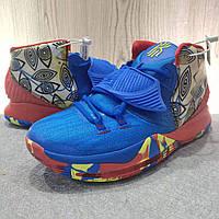 Мужские Баскетбольные кроссовки Nike Kyrie 6(Blue/red), фото 1
