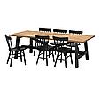 Стол и 6 стульев SKOGSTA / NORRARYD, фото 3