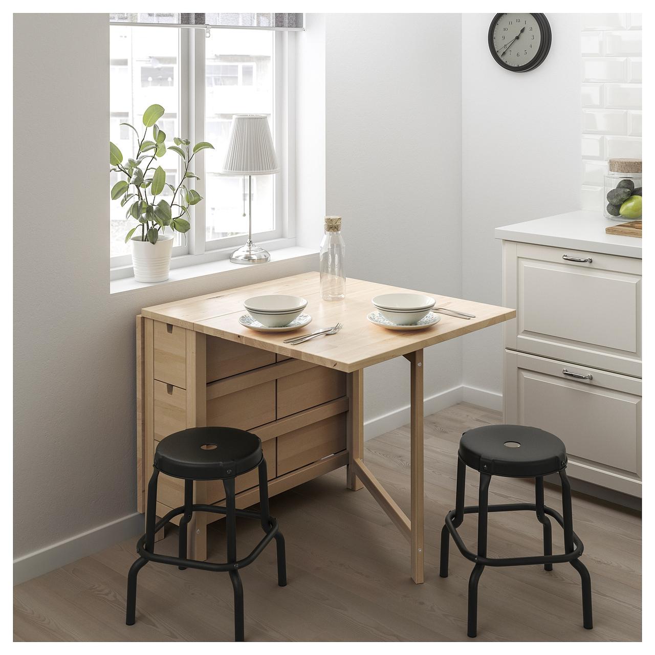 Раскладной стол NORDEN 152x80 см
