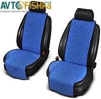 Накидки на передние сиденья из АЛЬКАНТАРЫ (искусственной замши)