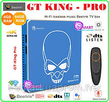 Beelink GT King PRO Android TV BOX 4gb DDR4 64gb +ANDROID 9 прошивка НАСТРОЙКИ I-SMART