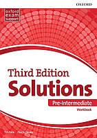 Рабочая тетрадь Solutions Third Edition Pre-Intermediate Workbook (Edition for Ukraine)