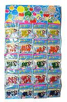 Гидрогель цветной шарики 20 шт на планшетке