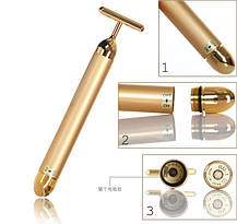 Energy Beauty Bar ионный вибромассажер для лица Revoskin Gold, фото 3