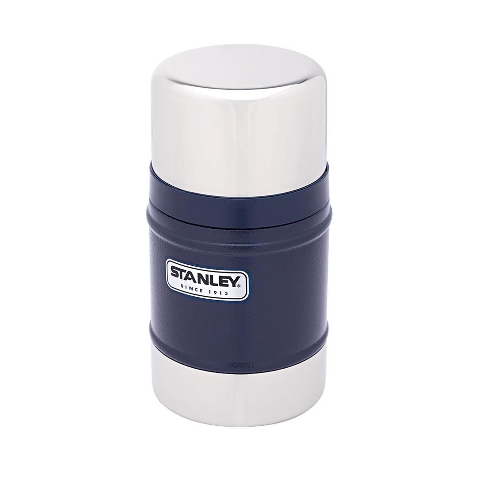 Термос пищевой Stanley Classic 0.5 л (Темно-синий)
