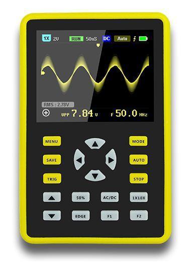 FNIRSI-5012H 2,4-дюймовый цифровой осциллограф 500мс/с