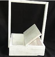 Ящик для цветов и подарка, дерево 26,5Х26,5Х40), 160\130 (цена за 1 шт. +30 грн.)