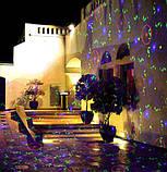 Лазерный проектор RGB 8в1 Три цвета + пульт + диск (RGB2010), фото 8
