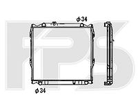 Радиатор охлаждения двигателя Toyota / Lexus (NRF) FP 70 A82-X