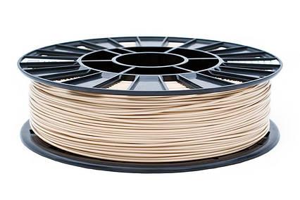 PLA пластик для 3D печати,1.75 мм, 0.85 кг Бежевий