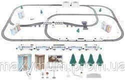 Электрическая детская железная дорога. Длинна 9м.