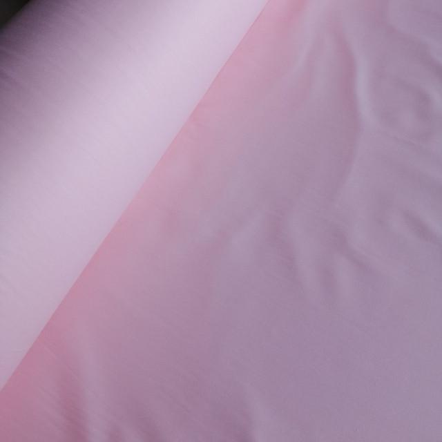 ткань сатин однотонный светло-розовый китай 220