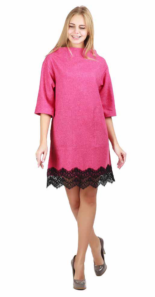 Платье женское с кружевной отделкой высокого качества брендовое ENVYME, Украина (ARBER)