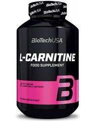Карнитин L-Carnitine 1000 mg (60 табл.) BioTech USA
