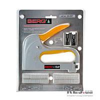 24-087 Зшивач пластиковий для круглого та плоского кабелю зі скобами Berg