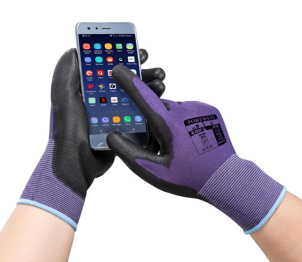 Перчатки для сенсорного экрана - ПУ A195