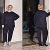 Теплый костюм женский большого размера, с 48 по 82 размер