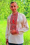 "Вышиванка мужская ""Федор"" (лён) , 37, фото 2"