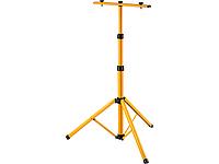 Стойка для прожектора двойная на два прожектора телескопическая 1,6 м Lemanso LMP35