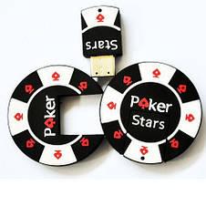 """Флешка """"Покерная фишка Poker Stars"""", 32 Гб, фото 2"""