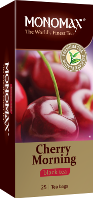 Чай Мономах «Cherry Morning», черный, 25 пакетов