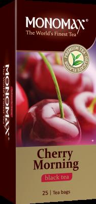 Чай Мономах «Cherry Morning», черный, 25 пакетов, фото 2