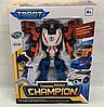 Робот-трансформер Tobot Tritan Mini Champion Тобот Тритан Чемпион  529, фото 4
