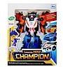 Робот-трансформер Tobot Tritan Mini Champion Тобот Тритан Чемпион  529, фото 5