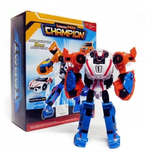 Робот-трансформер Tobot Tritan Mini Champion Тобот Тритан Чемпион  529