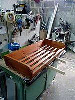 Полка хлебная 1250х400 на стеллаж