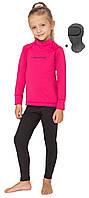 Детский спортивный комплект термобелья Rough Radical Double +балаклава, розовый с черным 28 (104-110), фото 1
