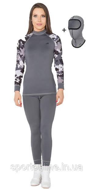 Спортивний жіночий термокостюм Radical Shooter теплий, M сірий