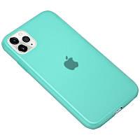 """Силиконовый матовый полупрозрачный чехол для Apple iPhone 11 Pro Max (6.5"""")"""