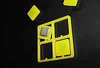 Магниты для стеклянных досок 20мм х 20 мм (5 мм толщина) Tetris  4 штуки