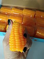 Игрушка антистрес силиконовый сквиш Кукуруза, фото 1