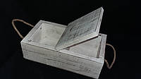 Ящик для мелочей дерево 27Х15Х8см 160\130 (цена за 1 шт. +30 грн.)