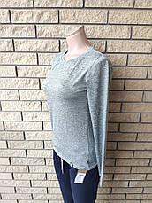 Кофта, футболка с длинным рукавом женская трикотажная высокого качества брендовая ENVYME, Украина(ARBER), фото 3